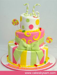 girls birthday cakes - Bing Images