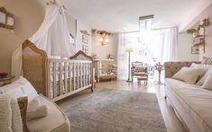 Baby bedroom by designer Rosângela Coelho Brandão Baby Boy Rooms, Baby Bedroom, Baby Cribs, Kids Bedroom, Bedroom Decor, Luxury Nursery, Baby Room Design, Luxurious Bedrooms, Baby Decor