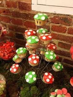 Mario Bros Cupcakes by Lady Frosting