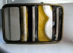 Pieces of Eight Belt Buckle Recycled  by vintageinretrospect, $25.00