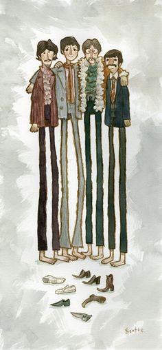 Acuarelas / Beatles