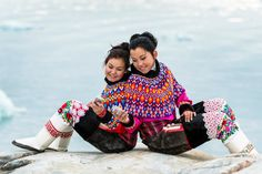 Traditional dress - the national costume of Greenland