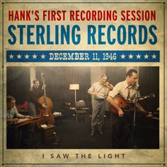 """""""He played some songs he'd written and I offered him a contract right then and there."""" - Fred Rose #ISawTheLight"""