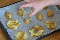 Knuste kartofler med hvidløg rosmaring og parmesan GIF
