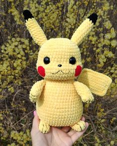 Our goal is to keep old friends, ex-classmates, neighbors and colleagues in touch. Pikachu Pikachu, Amigurumi Pikachu, Crochet Pikachu, Pokemon Crochet Pattern, Crochet Patterns Amigurumi, Amigurumi Doll, Disney Crochet Patterns, Pokemon Plush, Russian Pattern