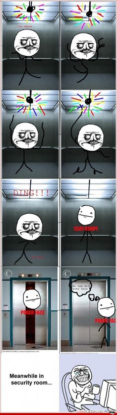 I would do this but i like never ride elevators and when i do....i. am.not. alone.
