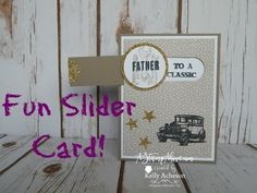 Feature Friday Video - Slider Card! - A Stamp Above