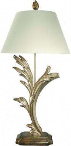 Bradburn Gallery Flowing Leaves *L* Table Lamp $697