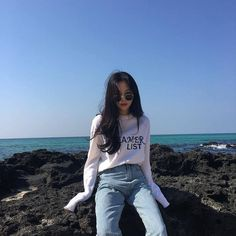 Ulzzang Korean Girl, Cute Korean Girl, Girl Korea, Asia Girl, Ulzzang Fashion, Korean Fashion, Look Fashion, Girl Fashion, Korean Look