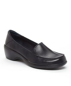 This Navy May Thistle Leather Shoe by Clarks is perfect! #zulilyfinds