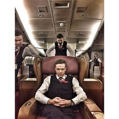 From vortsok If one professional is not enough you can get four of them  #crewlifestyle #comissariadebordo #crewfie #plane #crewlife #airlines #flightattendants #flightattendantlife #stewardesslife #cabincrews #cabinattendant #aircraft #airlinescrew #fly #airplane #crew #aviation #avgeek #travel #aircrew #layover #flight #flightcrew #flying #flightattendant #cabincrewlife #airhostess