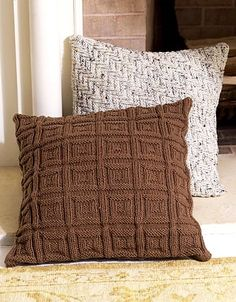 Ravelry: Comfort pillows pattern by Coats & Clark