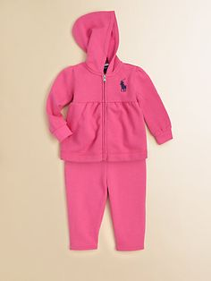 857c9f0ba Ralph Lauren - Infant s Fleece Hoodie   Pants Set