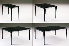 Deco Expandable Console  Dining Table traditional dining tables