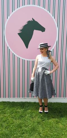 Boater filled Derby Day Derby Day at Flemington Racecourse is part of the Melbourne Cup Spring Racing Carnival. Vogue 1566 Two Sewing Sisters Flemington Racecourse, Spring Racing Carnival, Melbourne Cup, Derby Day, Sewing Blogs, Boater, Dress Codes, Outfit Of The Day, Sisters