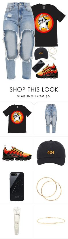 """dappy easter"" by daisym0nste ❤ liked on Polyvore featuring NIKE, Native Union and Lancôme"