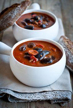 Sweet Pixel: Pikantní fazolová polévka