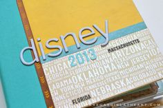 Disney 2013 Mini Album