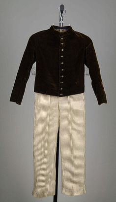 Suit for boys 1855-65