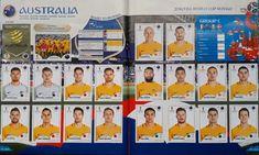 Album figurine mondiali World cup Russia 2018 - Panini FOTO Russia, Panini, Fifa World Cup, Australia, Album, Card Book