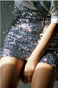 Silence & Noise Sequin Skirt $88- I really want a sequin skirt!