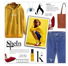 """Yellow Sweatshirt"" by chathurika-gamage ❤ liked on Polyvore featuring ANNA, Chanel, women's clothing, women's fashion, women, female, woman, misses and juniors"