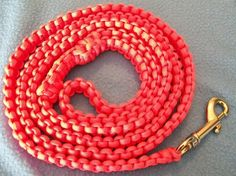 Paracord Dog Leash Pink Dog Leash Lead by DottiesDogs on Etsy https://www.etsy.com/listing/94513174/paracord-dog-leash-pink-dog-leash-lead