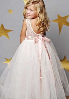 FATTIEPIE Jane Ivory Flower Girl Dress Φορέματα Παράνυμφων a0071c983da