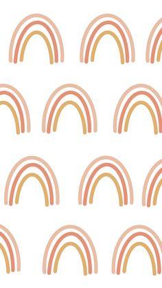 Rainbow phone wallpaper