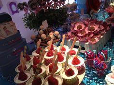 #ariel #princesaariel #princess #mesadebolo #docinhos #guloseimas #cupcake