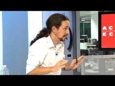 """Entrevista sin cortes a Pablo Iglesias en """"Actualidad Económica"""" - YouTube"""