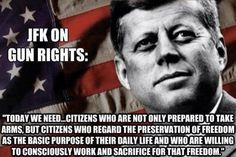 JFK on Gun Rights