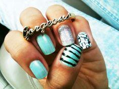 Blue, Black & Silver