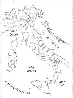 Cartina Dei Fiumi Ditalia In Versione Muta O Completa Scuola