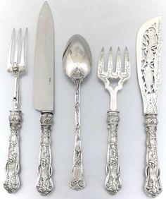 Cubiertos de plata