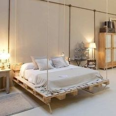 22 amazing recycled pallet bed frame ideas to make it yourself 22 | maanitech.com #palletfurniture #palletideas