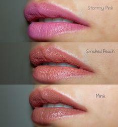 Revlon - Stormy Pink, Smoked Peach, Mink