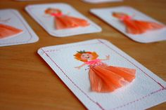 birthday party invitations for my daughter #diy #craft @Amy Lyons Sackrison