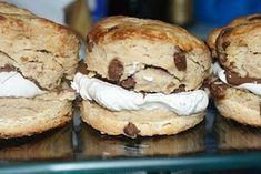Baileys & Choc Chip Scones Recipe on Yummly Yummy Treats, Sweet Treats, Yummy Things To Bake, British Bake Off Recipes, Savory Scones, Baileys, Cake Recipes, Baking Recipes, Coffee Cake