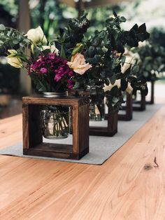 Rustic wooden vase attachments Decor on the wedding island Party decorations . - Rustic wooden vase tops decor on the wedding island party decorations or wood design - Wedding Isle Decorations, Rustic Wedding Centerpieces, Wedding Rustic, Trendy Wedding, Fall Wedding, Unique Weddings, Rustic Party Decorations, Rustic Table Centerpieces, Home Wedding