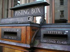 Old school Posting Boxes
