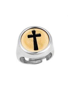 Δαχτυλίδι Ανδρικό Δίχρωμο 925 με Ζιργκόν Αναφορά 022261 Ένα πανέμορφο ανδρικό δαχτυλίδι που μπορείτε να χαρίσετε στον αγαπημένο σας κατασκευασμένο από Ασήμι 925 σε χρώμα λευκό κίτρινο.Οι πέτρες που το διακοσμούν είναι ημιπολύτιμες (ζιργκόν) σε μαύρο χρώμα. Salt, Salts