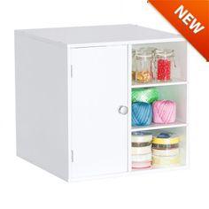 Door and 2-Shelf Organizer Cube