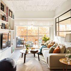 New Living Room Cosy Modern Loft Ideas Apartment Bedroom Decor, Two Bedroom Apartments, Apartment Design, Apartment Living, New Living Room, Small Living, Home And Living, Living Spaces, Sweet Home