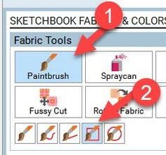 EQ8 Lessons with Yvonne-QUICK COLORING FOR MAXIMUM EFFECT   The Electric Quilt Blog Electric Quilt, Paint Brushes, Coloring, Symbols, Letters, Quilts, Blog, Fabric, Art