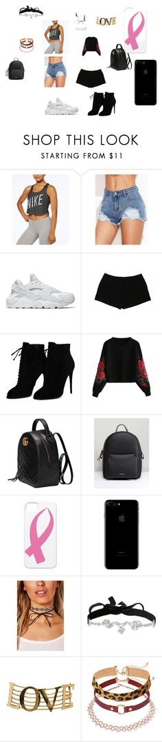 """""""loser"""" by bjanea-cx on Polyvore featuring NIKE, Express, Tom Ford, Gucci, Calvin Klein, Boohoo, AURA Headpieces and Dolce&Gabbana"""