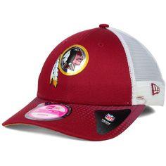 af907c981c4 New Era Women s Washington Redskins Draft 9FORTY Cap ( 25) ❤ liked on  Polyvore Mens