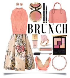 """""""Mother's Day Brunch Goals"""" by ittie-kittie ❤ liked on Polyvore featuring Fendi, Love, Coccinelle, Christian Louboutin, Allurez, Yves Saint Laurent, Ciaté and Chanel"""