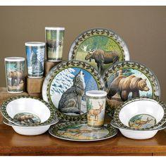 American Wilderness Dinnerware Set