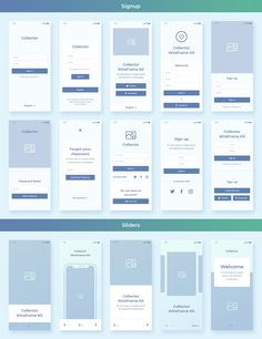 Ad: Collector iOS Wireframe UI Kit by Evatheme Market on Collector - is a stylish collection of iOS Wireframe Screens design that consists of 22 Popular Categories for your mobile App Wireframe, Wireframe Design, Design Ios, Mobile Ui Design, Travel Design, Graphic Design, Ui Kit, Design Thinking, Motion Design